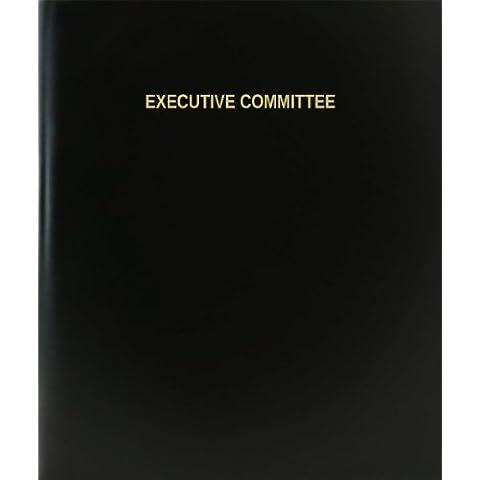 BookFactory® Comité ejecutivo libro de registro/diario/diario página–120, 8,5