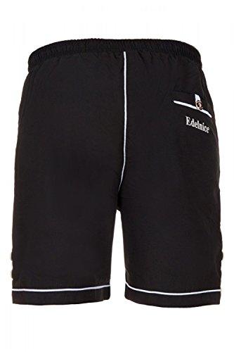 Trachten Badeshorts Badehose im Lederhosen Style braun, schwarz oder schlamm Gr. S-4XL - 3