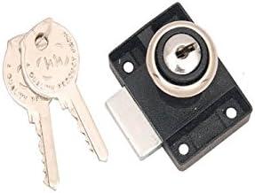 Smart Shophar Zinc Multipurpose Lock Epigone Black & Silver With 2 Keys 2.5 cm