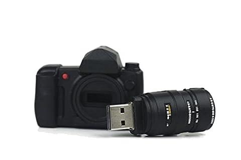 Kamera USB Flash Drive 16GB–Memory Stick Daten Storage–Pendrive–Schwarz