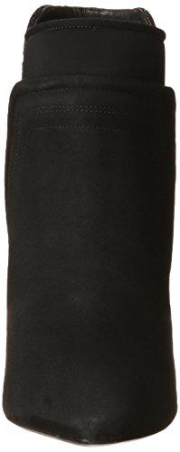 Kenneth Cole NY Landon Femmes Daim Bottine Black-Black