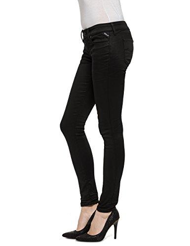 Replay Damen Skinny Jeans Luz Schwarz (Black Denim 98)