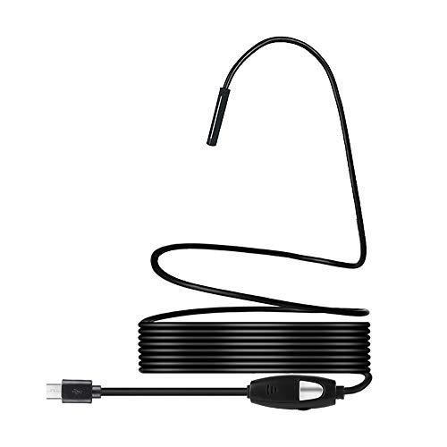 LIUYUNE,5.5mm Objektiv 1.3MP Endoskopie-Werkzeug, 2m Kabel(Color:SCHWARZ)