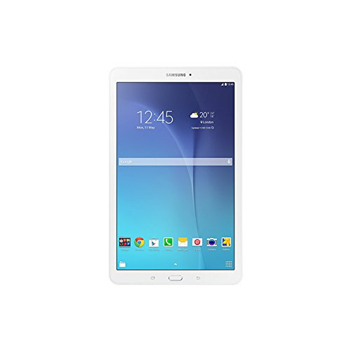 "Samsung Galaxy Tab E Tablet da 9.6"", 3G, Quad-Core, 8 GB, 1.5 GB RAM, Android, Bianco"