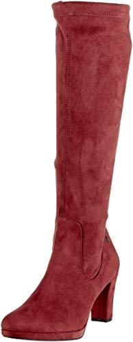 Tamaris Damen 25522-21 Hohe Stiefel, Rot (Bordeaux 549), 40 EU