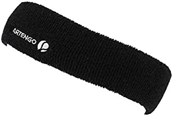 ARTENGO Adult Sports Headband-Black