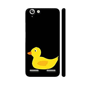 Colorpur Cute Yellow Duck Printed Back Case Cover for Lenovo Vibe K5/K5 Plus
