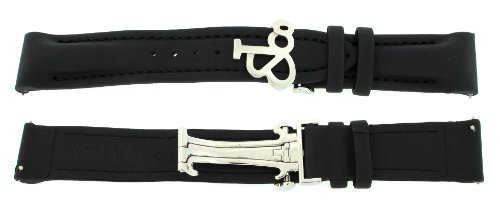 jacob-co-genuine-black-poly-rubber-band-strap-20mm-for-40mm-watch