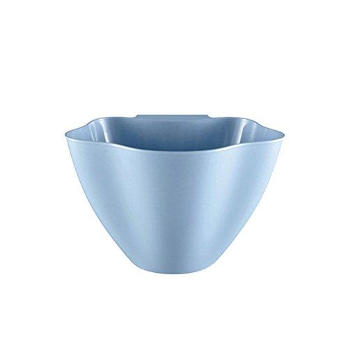 k Kunststoff Recycle Mülleimer Müll Papierkorb Tasche Organizer Halter (Nordic blau) ()