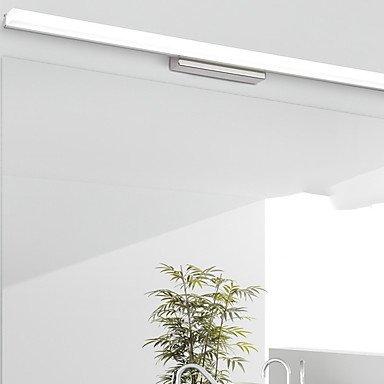 YYHAOGE Protection Des Yeux Simple Salle De Bains Contemporaine Salle De Bains D'Éclairage Mural Acrylique Pour 220V 9W,Blanc 220V