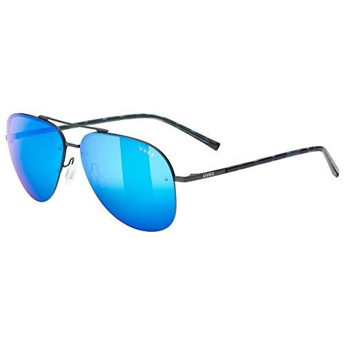 Uvex Erwachsene lgl 40 Sonnenbrille, Gun mat, One Size