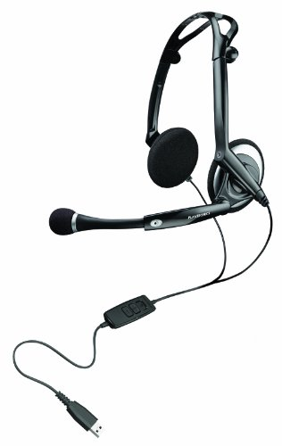 Plantronics Audio 400 DSP faltbares Digital USB-Stereo-Headset Digital Headset