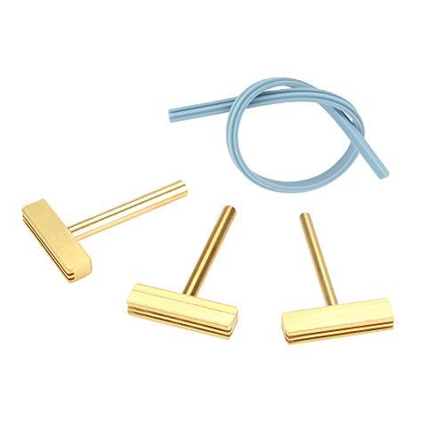 30w 60w 40W Soldadura de hierro en T T-head, T-Tips de cobre + Cable de goma Prensa caliente para pantalla LCD Pixel Flex Cable Reparación (3pcs / set)