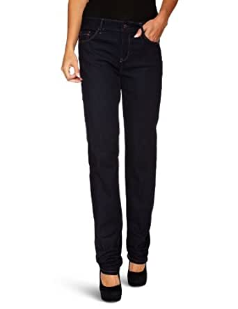 Esprit - Jean - Droit  - Femme - Bleu (Midnight Rinse) - FR : 29W/34L (Taille fabricant : 29/34)