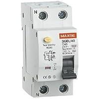 Interruptor diferencial residencial 2P-30mA-Clase AC-6kA 40 A, Cablepelado®