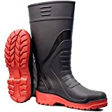 """Norwin Metro Double Density, Puncture and Tear Resistant, Anti-Slip Safety Gumboot (Size_7"""") (Height 13 inch)"""