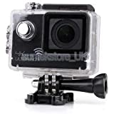 Alcoa Prime 4K Ultra HD 1080P 12MP WIFI Sports DV Action Waterproof Camera Black