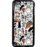 5 Fall Ipod (Chibi Studio Ghibli Doodle iPod Touch 5Fall (schwarz Kunststoff))