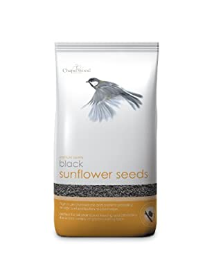 Chapelwood Black Sunflower Seed 3.5kg by Chapelwood