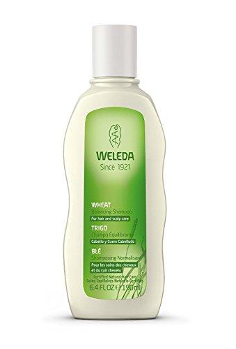 Weleda-Weizen Balancing Shampoo (für Haar und Kopfhaut Care)-190ml/Gläser Plastik