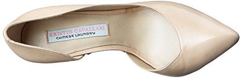 Chinese Laundry Kristin Cavallari Copertina Cuir Talons New Nude-Leather