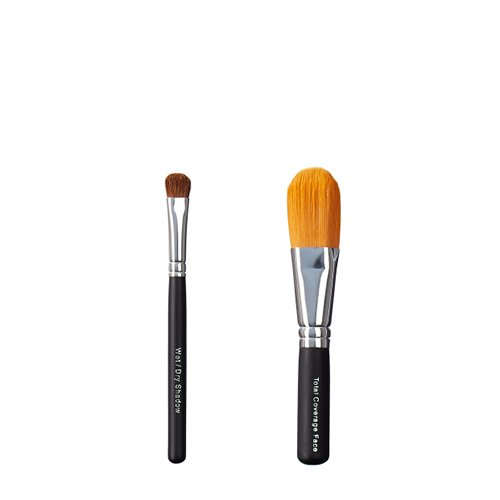 Foto de ON & OFF Wet/Dry Sombra y Total Cobertura Face Brush Duo, 1er Pack (1 x 0,25 L)
