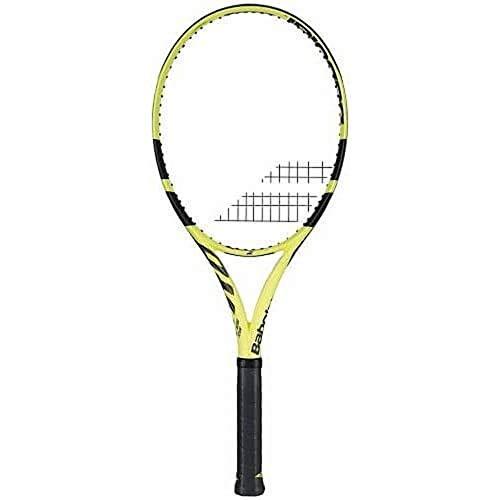 Babolat Tennisschläger Puro Aero Team besaitet schwarz/gelb (703) 2