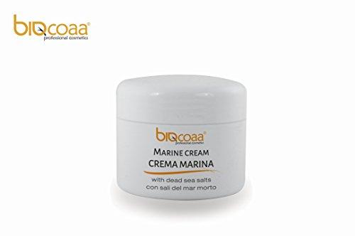 Crema para el cuerpo con la sal del mar muerto y algas - excelente en el tratamiento de la celulitis, estimula la micro circulación de los tejidos por la disminución de la descamación de la piel - producto natural - fabricado en Italia - formato conveniencia - 250 ml - 300 gr