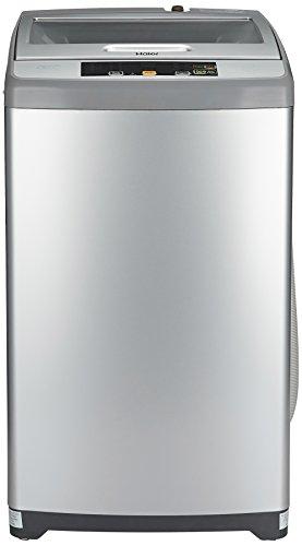 Haier 6.2 kg Fully-Automatic Top Loading Washing Machine (HWM62-707NZP, Silver...