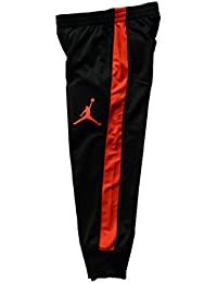 Nike Air Jordan Jumpman niños Negro y Infrarrojos Athletic Pantalones 66f6968357633