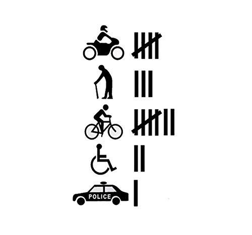 Kollisionen passieren mehrere Auto Aufkleber Decals Witze Unfug Transport Fahrzeuge Aufkleber 26.7 * (Gute Halloween Witze)