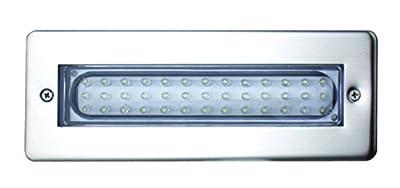Leyton Lighting 'Enzo' IP65 Recessed White Light LED Bricklight, Only 3.2W Energy Consumption