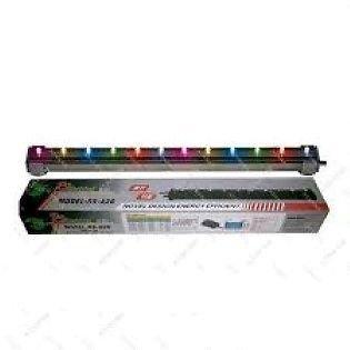 Aquarium Fish Tank- MultiColor LED LIGHT with AIR STONE - RS-A46 -Length 15 Inches ** COLOURFUL AQUARIUM **