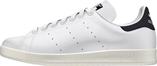ADIDAS donna sneakers basse AF6751 STAN SMITH LUXE W Bianco-Nero