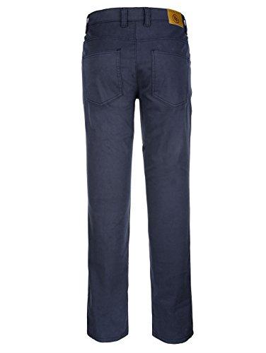 Herren 5-Pocket Hose Twill in trageangenehmer Qualität Elastisch/Stretchanteil by Boston Park Dark Blue