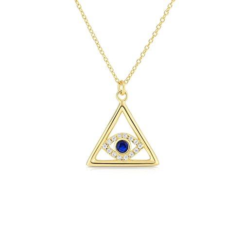 Cape Cod Jewelry  -  Sterling-Silber 925  Sterling-Silber Rundschliff    Zirkonia Künstlicher blauer Saphir