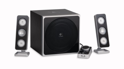 Logitech Z-4e 2.1 PC-Lautsprechersystem 40 Watt RMS schwarz