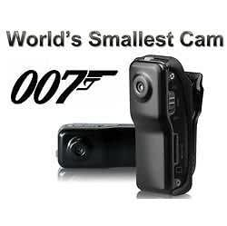 Rama electronics Latest World's Smallest Camera Hidden Spy Camera Mini DV Camera Digital Video Camera
