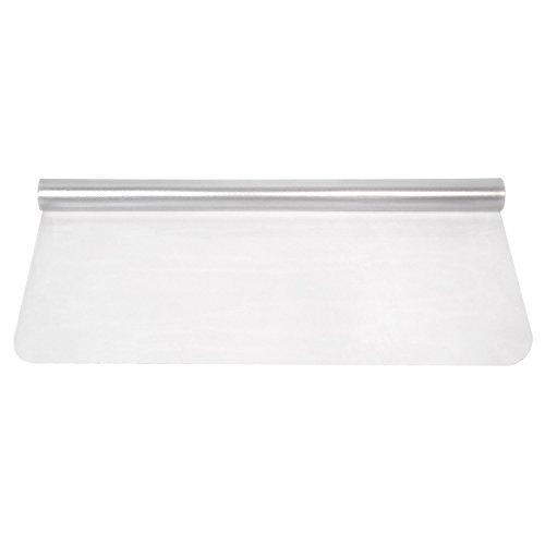 FEMOR Polycarbonat Bodenschutzmatte transparent pvc Büromatten Bürostuhlunterlage für Hartböden Laminat, Parkett und Fliesen(1200 x 900 x 1.5 mm) (1200, Teppich)
