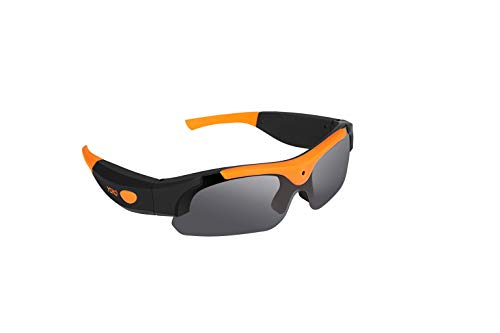 elegantstunning HD 1080P Sonnenbrille Kamera, Weitwinkel 120 Grad Mini Kamera DV Videokamera Smart Gläser für Outdoor