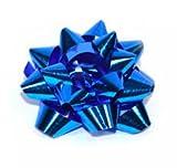 dalbags- 27Rosetten Stern Aufkleber Geschenk Weihnachten Dekorationen Farbe Blau Metal Dm 70