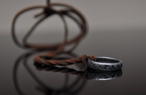 Uncharted 3 Nathan Drake's Ring with Necklace Strap from Collector's Edition -