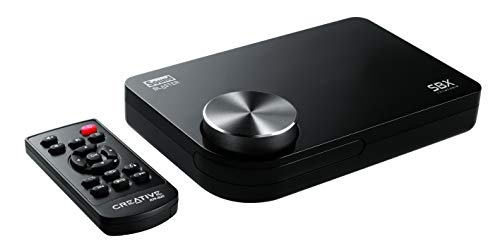CREATIVE Sound Blaster X-Fi Surround 5.1 Pro v3 - USB Soundkarte mit SBX Pro Studio-Technologie, für Windows 10 (Cinch-surround-sound-fernbedienung)