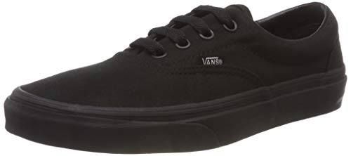 Vans U Era - Baskets Mode Mixte Adulte - Noir (Black/Black) - 39 EU