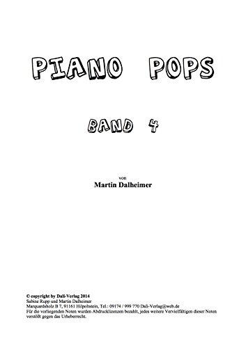 Preisvergleich Produktbild Piano Pop's Band 4