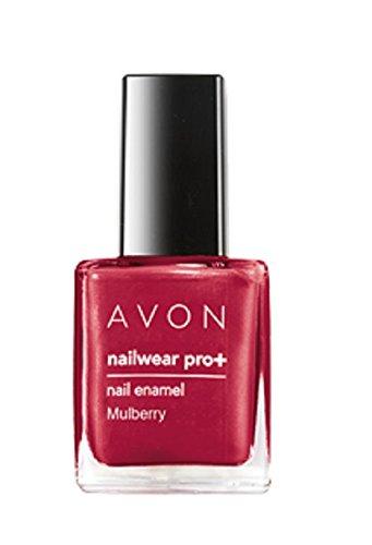 Avon Pro Plus Color Nailwear, Mulberry, 8ml