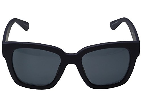 Quay Eyewear Australia Unisex Sonnenbrille 1552, Gr. One size (Herstellergröße: One Size), Blau (NAVY/SMK)