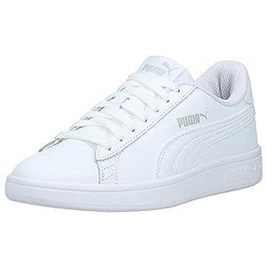 PUMA Unisex Adults' Smash V2 L Sneakers, White White, 41 EU 7.5UK 7.5 UK