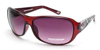 Skechers Women's Designer Sunglasses SK 7003 BU-20