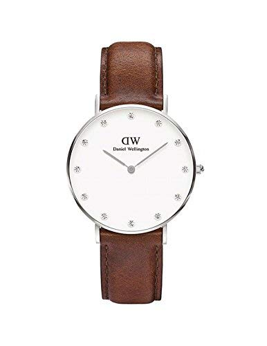 DANIEL WELLINGTON – Reloj ST MAWES Ref DW00100079-Ø34-SV-cuero